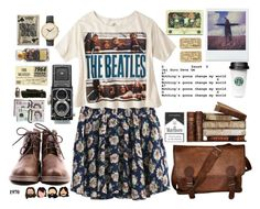 """""""Let it be."""" by brendislove ❤ liked on Polyvore featuring Debauve & Gallais, VIPARO, Universal Lighting and Decor, Nixon and vintage"""