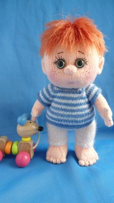 Ванечка - Мои вязульки - Галерея - Форум почитателей амигуруми (вязаной игрушки)