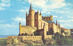 Segovia, Spain.  I visited this castle in 1998 when my tour group stopped to see the aqueduct.