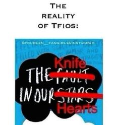 Not the fault in our stars, the knife in our hearts. I Love Books, Good Books, My Books, Star Quotes, Book Quotes, Book Memes, John Green Books, Augustus Waters, Looking For Alaska