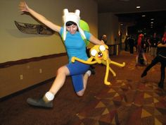 Adventure Time with Finn & Jake costume