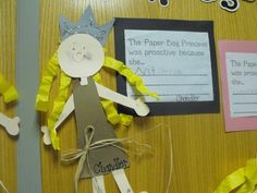 The Paperbag Princess First Grade Books, Art For Kids, Crafts For Kids, Fairy Tales Unit, Primary English, Continuous Provision, Fairy Tale Theme, Author Studies, Medieval Times