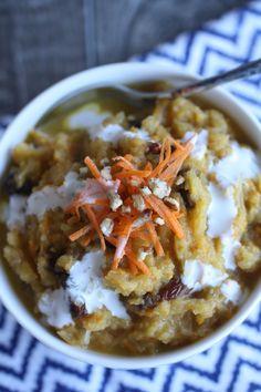 Carrot Cake Breakfast Porridge (AIP)