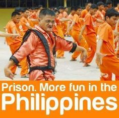 Dancing Cebu Inmates