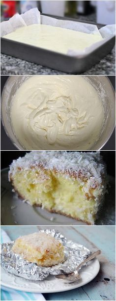 BOLO DE COCO DIVINO!! VEJA AQUI>>>Faça o bolo dona benta como manda a embalagem e ainda quente corte ao meio e transfira para a vasila Alta, em cima desta parte vc vai colocar Metade da calda. CALDA #receita#bolo#torta#doce#sobremesa#aniversario#pudim#mousse#pave#Cheesecake#chocolate#confeitaria