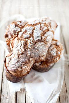 Italian Pastries, Sourdough Recipes, Bread Recipes, Home Baking, Fermented Foods, Artisan Bread, Sweet Bread, Italian Recipes, Italian Foods