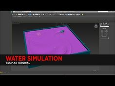 Water Simulation Tutorial in 3DS Max (No Plugins) : Tutorial - YouTube