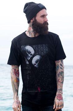 Disturbia Love Is Death Men's T-Shirt, £22.99 http://www.attitudeclothing.co.uk/product_32818-61-2238_Disturbia-Love-Is-Death-Men%27s-T-Shirt.htm
