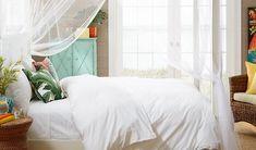 Romantic Tropical Bedroom Inspiration - The Hawaiian Home