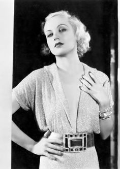 Carole Lombard by Otto Dyar, 1932