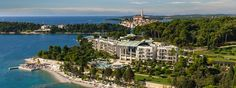 5 Star Luxury Hotel Monte Mulini Rovinj - Boutique Hotel in Istria, Croatia Istria Croatia, Warm Colours, Custom Made Furniture, Stay The Night, Balconies, Natural Materials, Rooms, Boutique, Nature