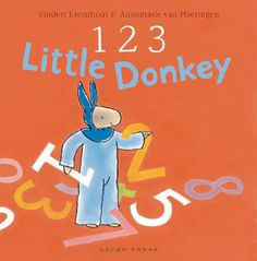 On our new bookshelf! Little Donkey and his friend will do anything for candy. An early concept counting book with a satisfying story structure, and a full, domes. Before Kindergarten, Emergent Literacy, Elementary School Library, Book Reviews For Kids, Counting Books, Story Structure, Math Concepts, Children's Picture Books, Reading Challenge