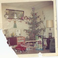 McDaniel retro Christmas 1968