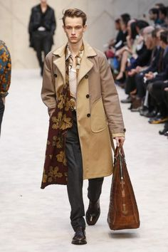 Image - Burberry Prorsum @ London Menswear A/W 2014 - SHOWstudio - The Home of Fashion Film