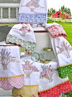 I love Crabapple Hill embroidery