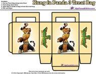 Kung Fu Panda 3 Free Party Printables   SKGaleana