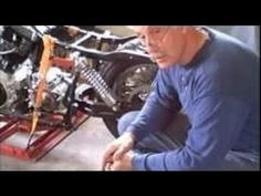 """Building a motorcycle! Longtime rider building project a """"Frankenstein Harley Davidson Motorcycle"""""""