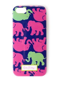 Lilly Pulitzer iPhone 5/5S Cover in Tusk in Sun