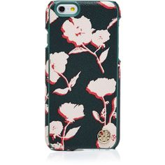 Tory Burch Kerrington Hardshell iPhone 6 Case (240 BRL) ❤ liked on Polyvore featuring accessories, tech accessories, posies combo, tory burch and tory burch tech accessories