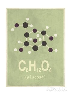 Molecule Glucose Giclee Print at AllPosters.com