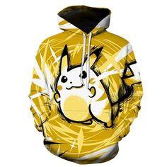 Pokemon Go Pikachu Hoodies Sweatshirts Unisex    eBay