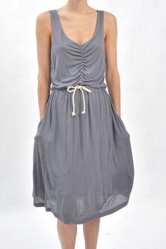 Covet - v-neck midi dress