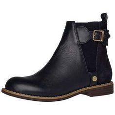 Trendiger Tommy Hilfiger Ankle Boot mit Schnalle und Elastikeinsatz.65% Leder, 35% Velours...