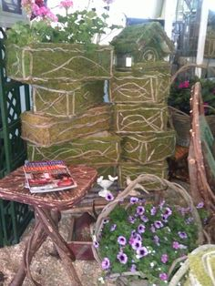 Another beautiful display. Country Living Fair, Arch, Outdoor Structures, Display, Explore, Awesome, Garden, Beautiful, Floor Space