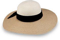 Eugenia Kim Honey Colorblocked Wide-Brim Hat