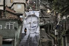 JR's Street Art of Rio's Favelas