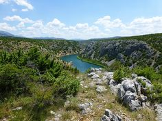 Zrmanja River in Croatia