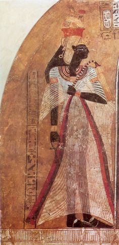 Ahmose-Nefertari of Ancient Egypt, the first Queen of the 18th Dynasty. She was a daughter of Seqenenre Tao II and Ahhotep I, and royal sister and the great royal wife of pharaoh, Ahmose I. She was the mother of king Amenhotep I and may have served as his regent when he was young. Ahmose-Nefertari was deified after her death.