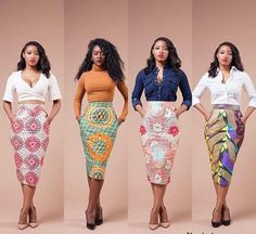 Stunning Ankara Statement Skirts to Rock