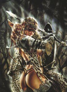 Colección de chicas guerreras de Luis Royo - Taringa!                                                                                                                                                                                 Más