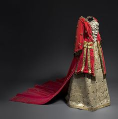 Costume designed by Leon Bakst for the Ballets Russes ca. 1921  From the National Gallery of Australia