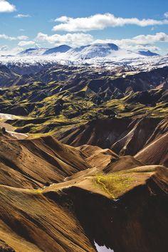 Landmannalaugar, Iceland | Jan Stuchlik. wnderlst Tumblr #Mountains #Iceland