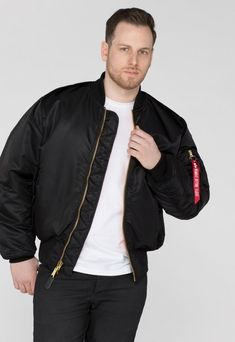 MA-1 Bomber & Fliegerjacken | Alpha Industries | Alpha Industries Germany Us Air Force, Nylons, Passed The Test, Alpha Industries, Orange Line, Youth Center, F 16, Fighter Pilot, Icon Design