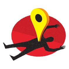 Frank Chimero / The Potential Dangers of Geotagging #illustration