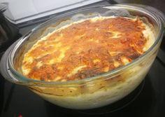 Gombás-baconos rakott csirke   Attila Konyhája receptje - Cookpad receptek Macaroni And Cheese, Ale, Bacon, Pudding, Ethnic Recipes, Food, Mac And Cheese, Ale Beer, Custard Pudding