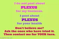 ☆ Follow me --->https://www.facebook.com/gethealthywiththehackworths  Ambassador #238634 for pricing and order info ★Visit my website-- http://www.janethackworth.myplexusproducts.com   ★ Let's Get Healthy Together!!   #plexusfreedom