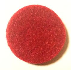 Round Replacement Pads Red (Qty of 10)