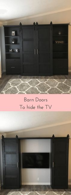 DIY BUILT-IN BOOKCASE REVEAL (AN IKEA HACK) | Pinterest | Hacks diy ...
