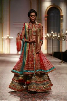 Mandira Wirk India Bridal Fashion Week  2013