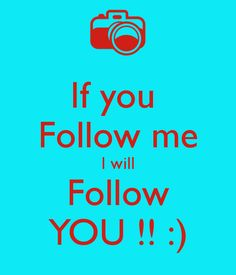 Pretty much. It's as simple as that! I promise that I will follow back:) love you guys