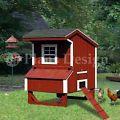 5'x4' Saltbox Style Small Chicken Pou...