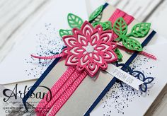 Crush On Colour: Stampin' Up! Artisan Design Team Blog Hop - Fabulous Flourishes! Flourish thinlit