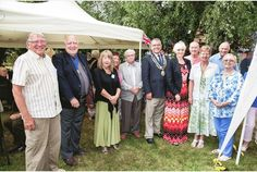 Maldon volunteers thanked Celebrating Volunteers Week 2014 with a  special event for local volunteers  July 2014