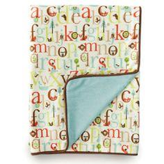 bubbalove.com.au - Skip-Hop - Nursery Blanket - Alphabet Zoo, $39.95 (http://www.bubbalove.com.au/skip-hop-nursery-blanket-alphabet-zoo/)