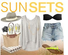 """""""SunSets"""" by lifereediculous on Polyvore"""