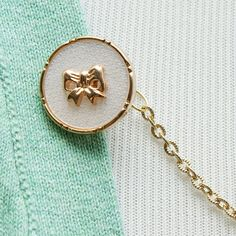 Shirt Guard  Gold Bow by FoxgloveFawnlily on Etsy, $22.00